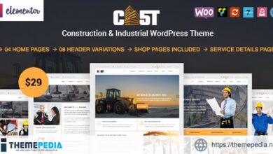 Cast – Construction & Industrial Responsive WordPress Theme [Free download]