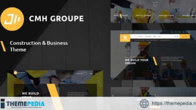 CMH Group – Building & Construction WordPress Theme [Free download]