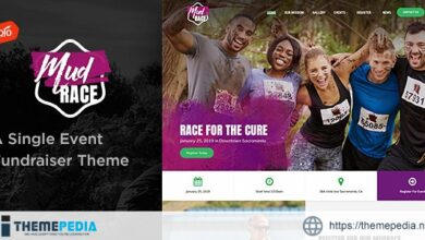 MudRace – A Single Event Fundraiser Theme [Updated Version]