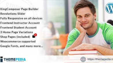 Student – WordPress Theme for University and LMS [Latest Version]