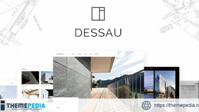 Dessau – Contemporary Theme for Architects and Interior Designers [Free download]