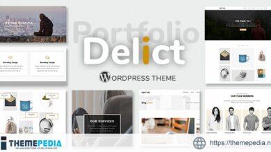 Delict – Minimal Agency & Portfolio Multipurpose WordPress Theme [Free download]