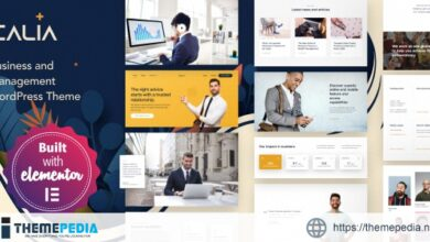 Calia – Business and Management WordPress Theme [Free download]