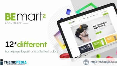 Bemart – WooCommerce Multipurpose WordPress Theme [nulled]