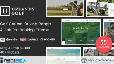 Uplands – Golf Course WordPress Theme [Free download]