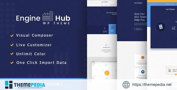 Engine Hub Marketing WordPress Theme [Latest Version]