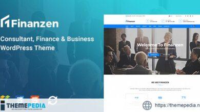 Finanzen – Consultant, Finance & Business WordPress Theme [Free download]