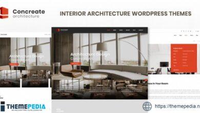 Concreate – Interior Architecture Interactive WordPress Theme [Latest Version]