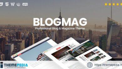 BlogMag – Responsive Blog and Magazine WordPress Theme [Free download]