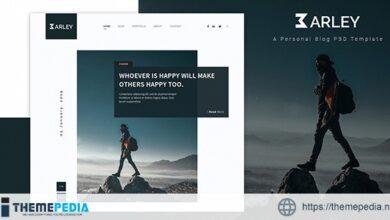 Barley – Creative Personal WordPress Blog Theme [Updated Version]