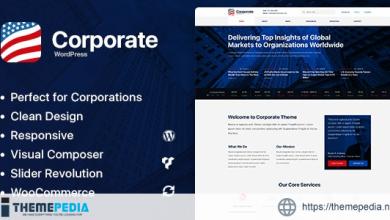 Axxum – Business & Company WordPress Theme [Free download]