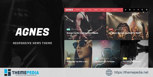 Agnes – Responsive WordPress News Theme [Free download]