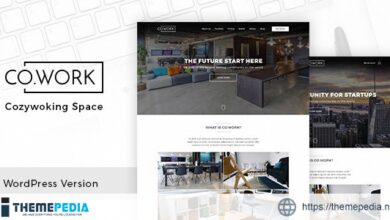 CoWork – Open Office & Creative Space WordPress Theme [Free download]
