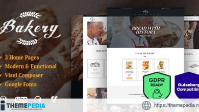 Bakery, Sweets Cafe & Pastry Shop WordPress Theme [Updated Version]
