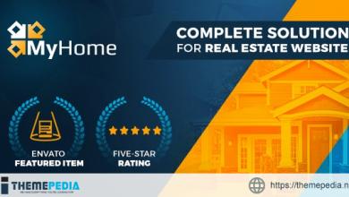 MyHome Real Estate WordPress [Free download]