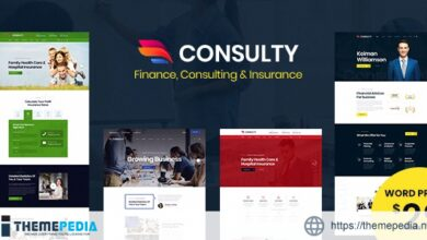 Consulty – Business Finance WordPress Theme [Free download]