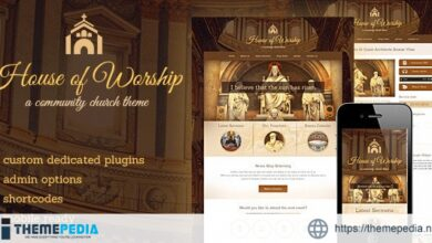 House Of Worship – Church Wordpress Theme [Free download]