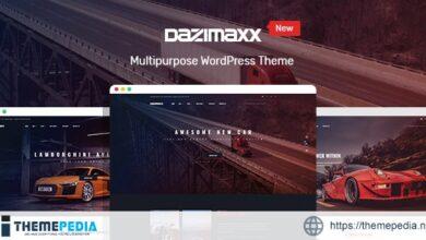 Car Dealer WordPress Theme – Dazimaxx [Free download]