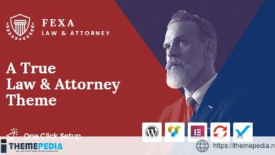 Fexa- Lawyer & Attorney WordPress Theme [Latest Version]