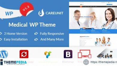 Careunit – Medical WordPress Theme [Free download]