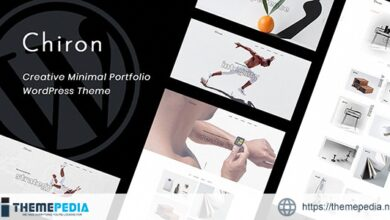 Chiron – Creative Minimal Portfolio WordPress Theme [nulled]