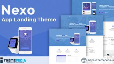 Nexo – Multipurpose Landing Page Theme [nulled]