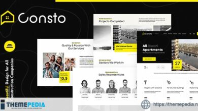 Consto – Industrial Construction Company Theme [nulled]