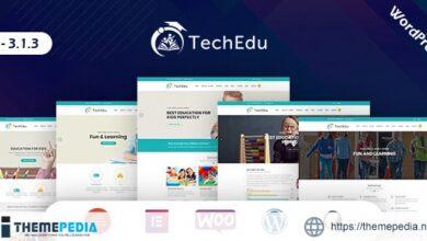 TechEdu – Education WordPress Theme [Latest Version]