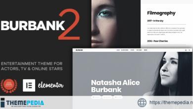 Burbank – Entertainment Theme for Actors & Stars [Free download]