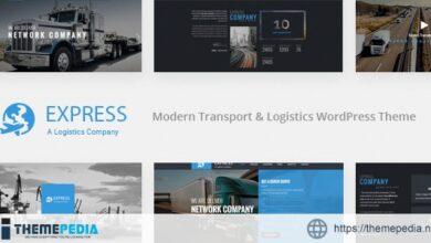 Express – Modern Transport & Logistics WordPress Theme [Free download]