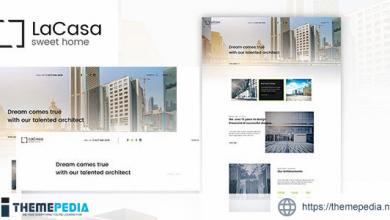 Lacasa – Interior & Exterior Decoration WordPress Theme [Free download]