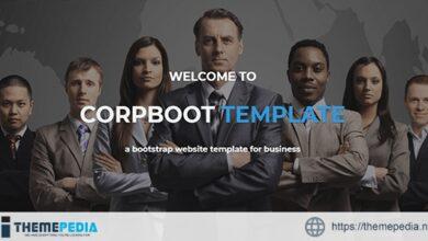 Corpboot – Corporate Website WordPress Theme [Free download]