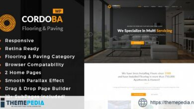 Cordoba – Paving Service WordPress Theme [nulled]