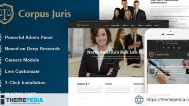 Corpus Juris – Law Firm and Consultation WordPress Theme [Free download]