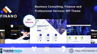 Finano – Finance WordPress [Free download]