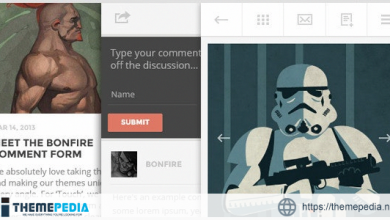 TOUCH- A Lighter-than-air WordPress Mobile Theme [Free download]