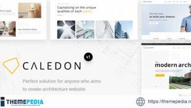 Caledon – Modern WordPress Theme For Architecture & Interior Companies [Updated Version]