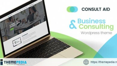 Consult Aid – Business Consulting And Finance WordPress Theme [Free download]