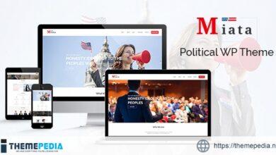 Miata – Political WordPress Theme [Free download]
