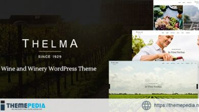 Thelma – Winery Theme [Free download]