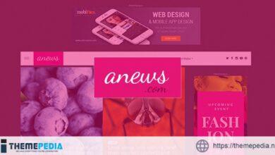 aNews – WordPress Theme for Magazine and Blog [Free download]