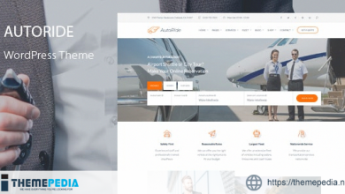 AutoRide – Chauffeur Booking WordPress Theme [Free download]