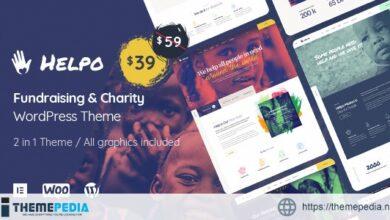 Helpo – Fundraising & Charity WordPress Theme [Free download]