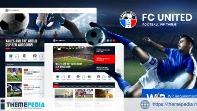 FC United – Football, Soccer & Sports WordPressTheme + RTL [Updated Version]