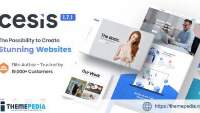 Cesis – Responsive Multi-Purpose WordPress Theme [Updated Version]