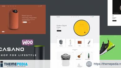 Casano – Fashion & Accessories WooCommerce Theme [Free download]