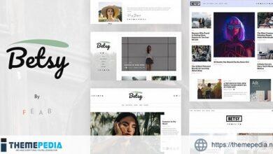 Betsy – A Clean WordPress Blog Theme [Free download]