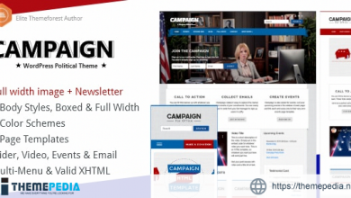 Campaign – Political WordPress Theme [nulled]