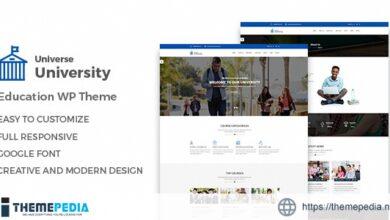 Universe – Education WordPress Theme [Updated Version]
