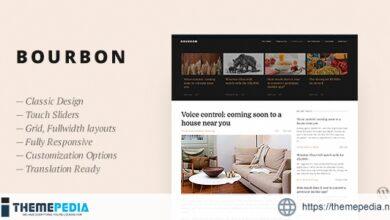 Bourbon — Responsive WordPress Blog Theme [nulled]